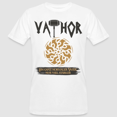 Vathor Vater Vatertag Geschenkidee - Männer Bio-T-Shirt