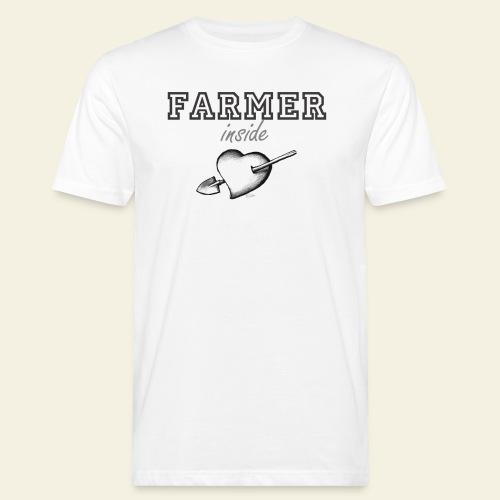 Hearth farmer - T-shirt ecologica da uomo