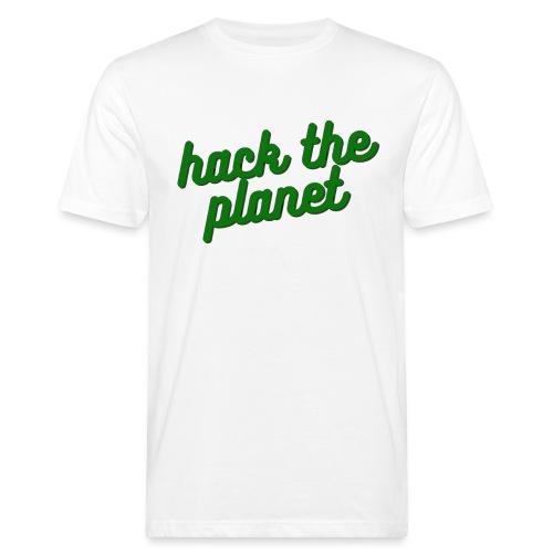 Hack The Planet - Ekologisk T-shirt herr