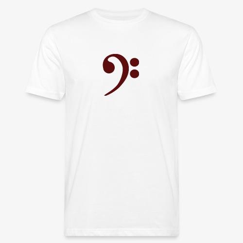 Bass-Key-4 - Männer Bio-T-Shirt