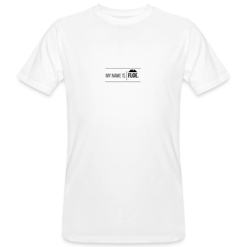 My name is FLOE. - Mannen Bio-T-shirt