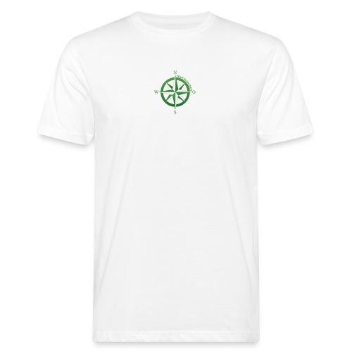Team Bushcraft Kompass - Männer Bio-T-Shirt