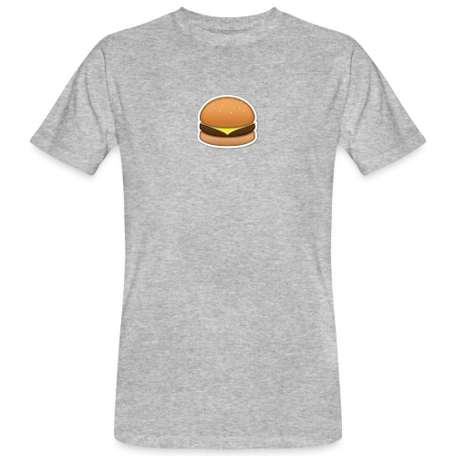 hamburger_emoji - Mannen Bio-T-shirt
