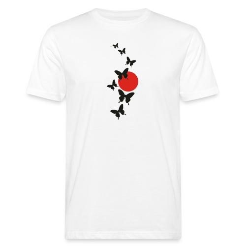 Butterfly - Männer Bio-T-Shirt