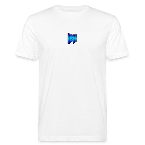 T-SHIRT MET LOGO OP - Mannen Bio-T-shirt