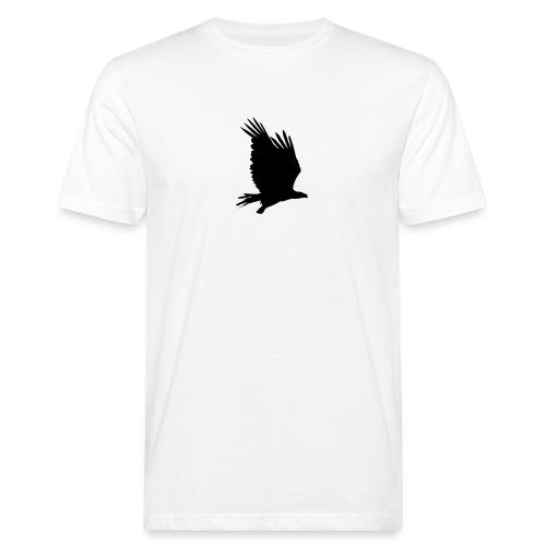 Tirolerbergluft pur (großer Adler) - Männer Bio-T-Shirt