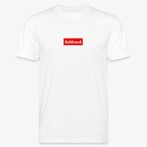 Baldmonk Box Logo - Men's Organic T-Shirt