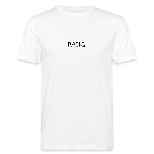 Basiq black - Männer Bio-T-Shirt
