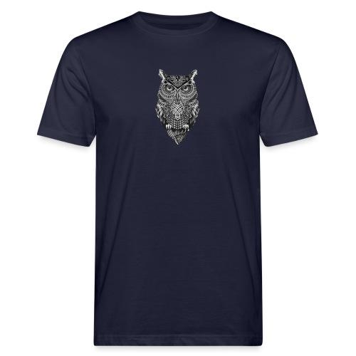 uil_groot - Mannen Bio-T-shirt