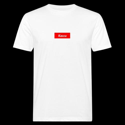 Kaccu box logo - Miesten luonnonmukainen t-paita