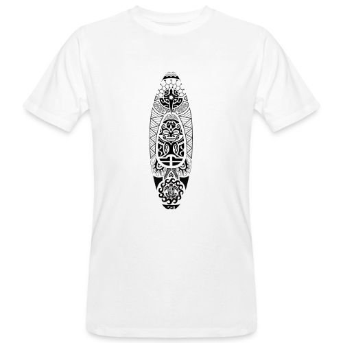T-shirt kayak maori II Femme - T-shirt bio Homme