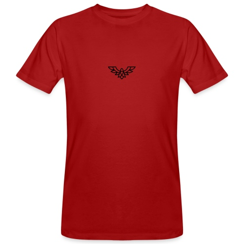 Clean Plain Logo - Men's Organic T-Shirt