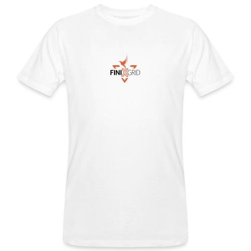 Finix Orange 2 - Men's Organic T-Shirt