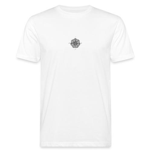 Kompass - Männer Bio-T-Shirt