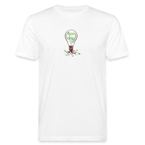 Logotyp Ecoday genomskinlig för ljus bakgrund png - Ekologisk T-shirt herr