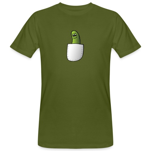 Pocket Pickle #2 - T-shirt ecologica da uomo