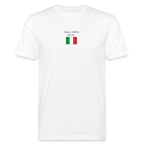 Włosko-polska - Ekologiczna koszulka męska