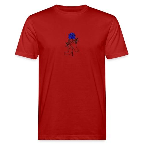 Fiore blu - T-shirt ecologica da uomo