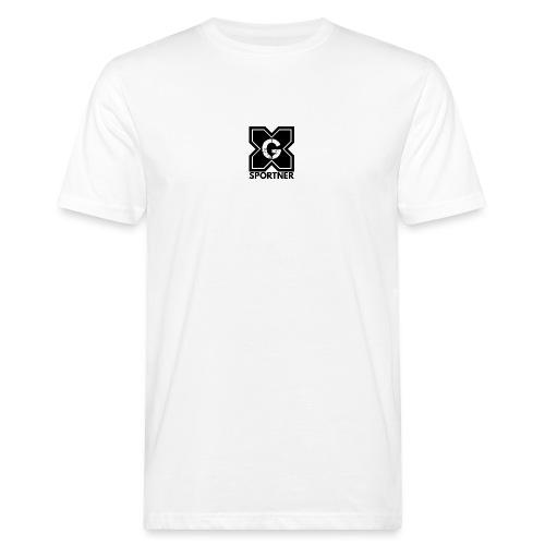 Logo GX SPORTNER noir - T-shirt bio Homme