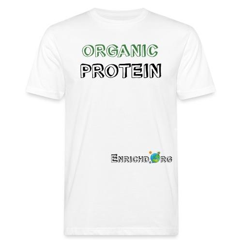 ENRICHD WORLD LOGO - Men's Organic T-Shirt