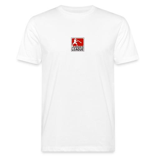 Jugger LigaLogo - Männer Bio-T-Shirt