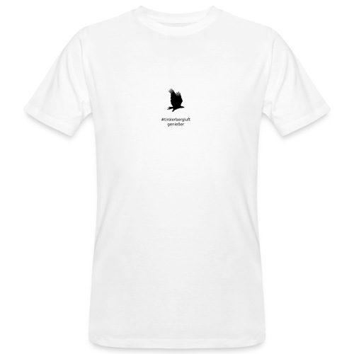 #tirolerbergluft genießer - Männer Bio-T-Shirt