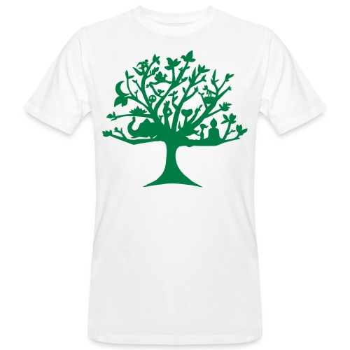 Yoga tree - T-shirt bio Homme