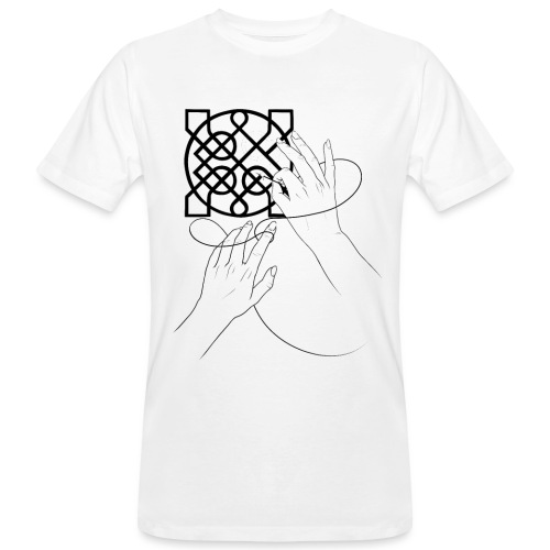 L'art de la broderie - T-shirt bio Homme