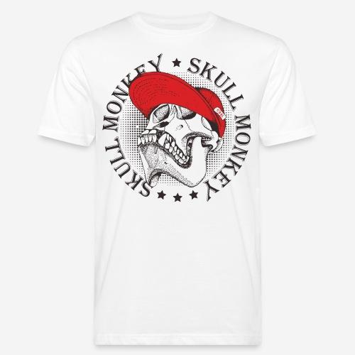 skull monkey vintage - Männer Bio-T-Shirt