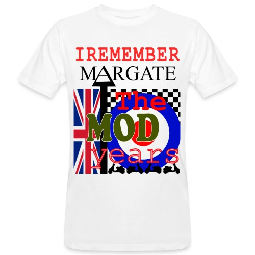 REMEMBER MARGATE - THE MOD YEARS 1960's - Men's Organic T-Shirt