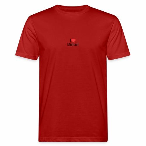 Michael designstyle i love Michael - Men's Organic T-Shirt