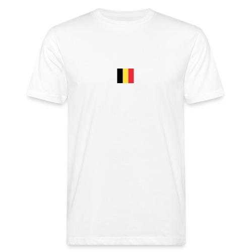 vlag be - Mannen Bio-T-shirt