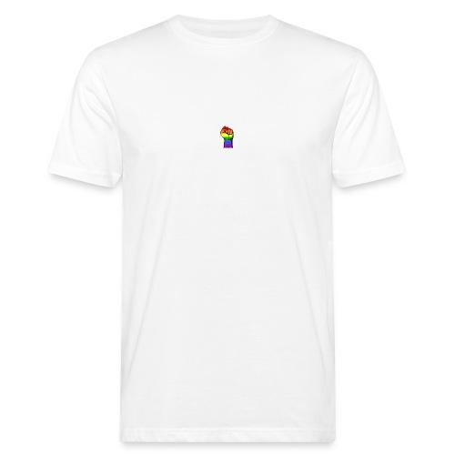 Lgbt Faust Protest weißer Hintergrund - Männer Bio-T-Shirt