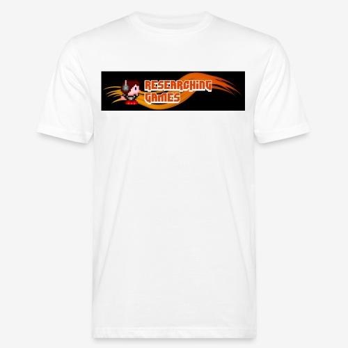 resgames Logo ab 2013 - Männer Bio-T-Shirt