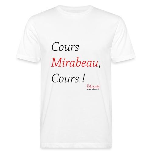 COURS MIRABEAU - T-shirt bio Homme