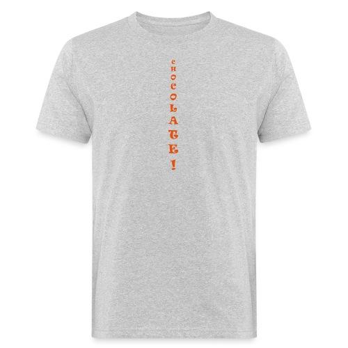 Chocolate - T-shirt ecologica da uomo