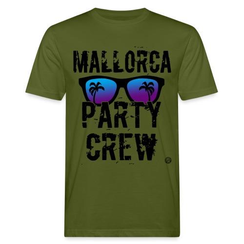 MALLE PARTY CREW Shirt - Mallorca Shirts 2019 - Mannen Bio-T-shirt