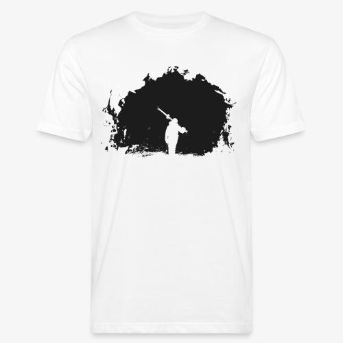 Esquiador - Skiier on the night - Men's Organic T-Shirt