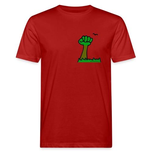 Watschenbaum bunt - Männer Bio-T-Shirt