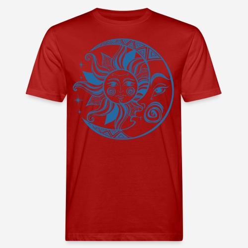 Sonnenmond Astrologie - Männer Bio-T-Shirt