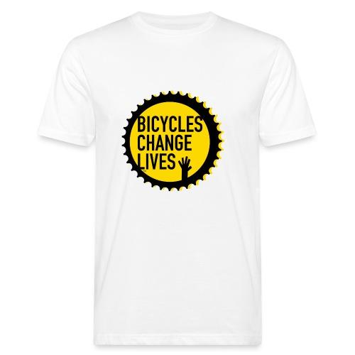 BCL Shirt Back White - Men's Organic T-Shirt