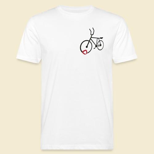 Radball | Cycle Ball Polo black - Männer Bio-T-Shirt
