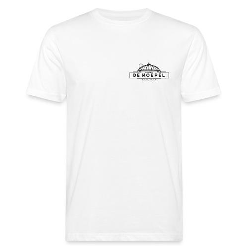 Logo HotelDeKoepel DEF Wi - Mannen Bio-T-shirt