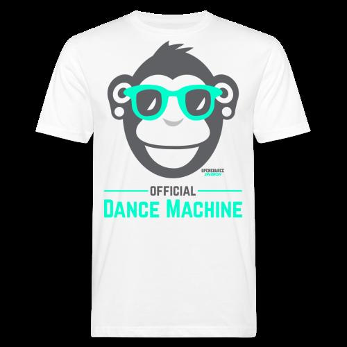 Official Dance Machine - Männer Bio-T-Shirt