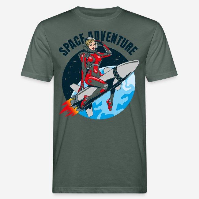 space adventure rocket girl