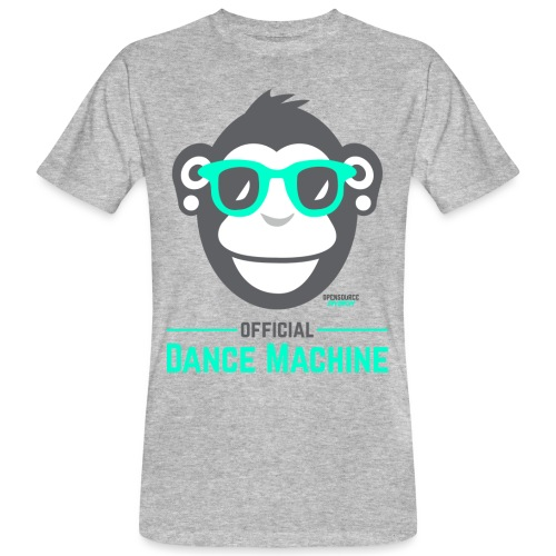 Official Dance Machine - Männer Bio-T-Shirt