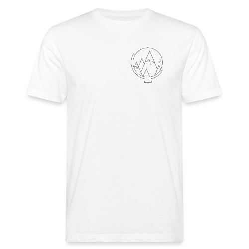 Bergen t-shirts, voor & achter bedrukt - Mannen Bio-T-shirt