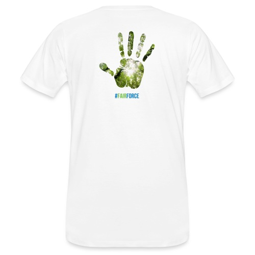 Fairforce Handprint - Men's Organic T-Shirt