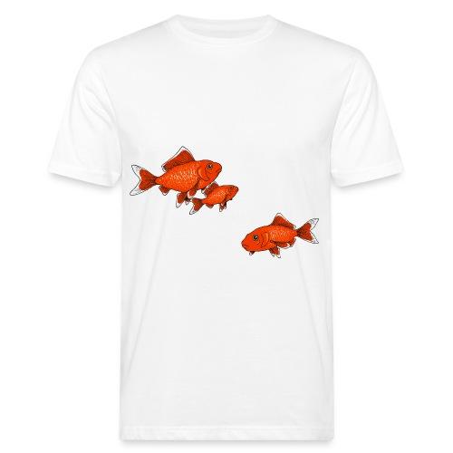 Poissons rouges - T-shirt bio Homme