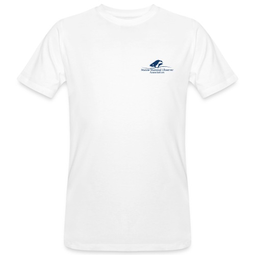 MMOA with blue logo. Nothing on the back. - Men's Organic T-Shirt
